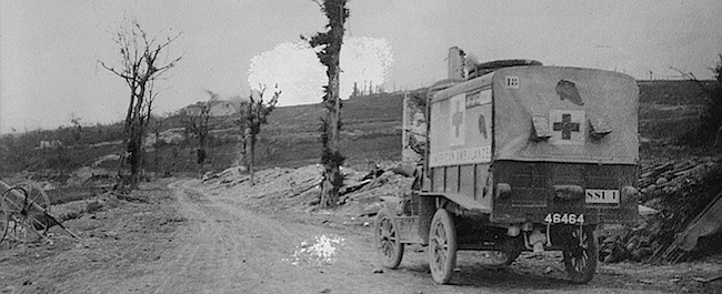 An American Ambulance Driver's Experiences in the First World War